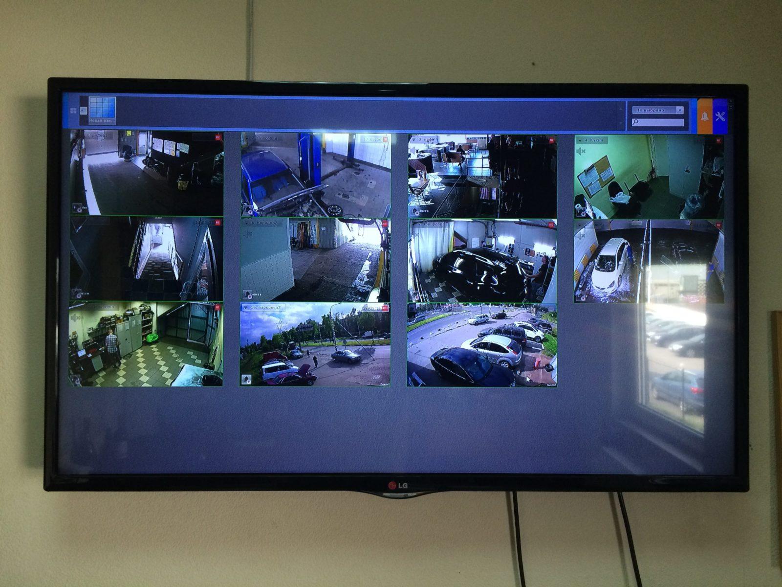 Системы видеонаблюдения для охраны объектов и безопасности имущества