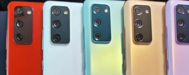 Представлена бюджетная версия смартфона Samsung Galaxy S20