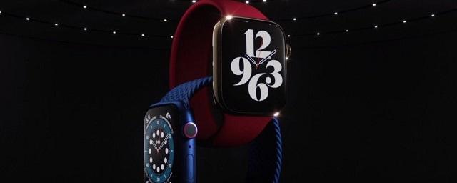 Apple показала новые часы Apple Watch