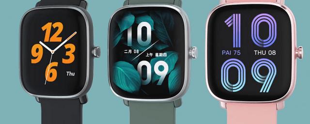 Xiaomi показала мини-версию часов Amazfit GTS 2