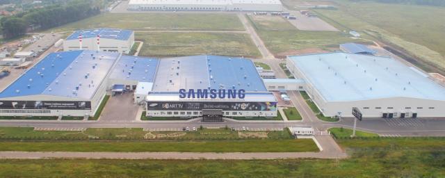 Samsung перенесет предприятие по производству дисплеев из КНР в Индию