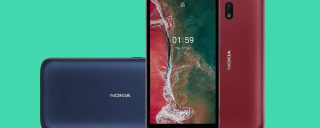 Nokia представила самый доступный смартфон C1 Plus