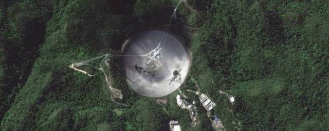 В Пуэрто-Рико обрушился 304-метровый радиотелескоп «Аресибо»