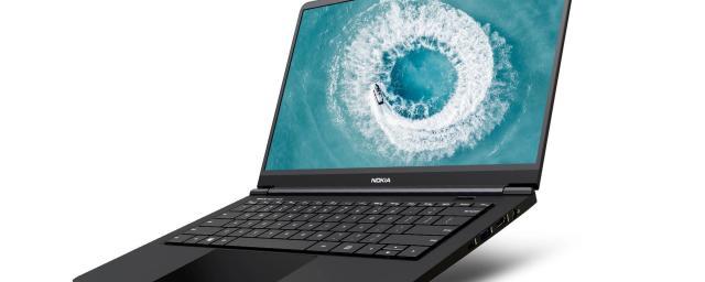 Nokia представила свой первый ноутбук