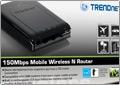 Мобильный 3G/4G-маршрутизатор TRENDnet TEW-655BR3G – интернет всегда под рукой